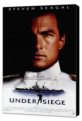 Under Siege - 27 x 40 Movie Poster - Style A - Museum Wrapped Canvas
