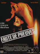 Under Suspicion - 11 x 17 Movie Poster - French Style A