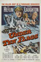 Under Ten Flags - 11 x 17 Movie Poster - Style B