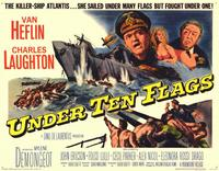 Under Ten Flags - 11 x 14 Movie Poster - Style A