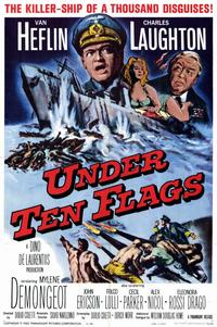 Under Ten Flags - 11 x 17 Movie Poster - Style A