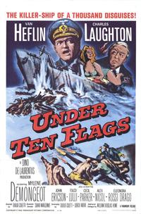 Under Ten Flags - 43 x 62 Movie Poster - Bus Shelter Style A