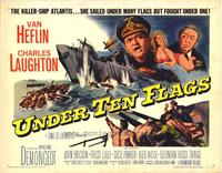 Under Ten Flags - 22 x 28 Movie Poster - Half Sheet Style A