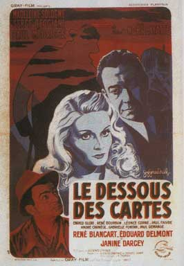 Under the Cards - 11 x 17 Movie Poster - French Style A