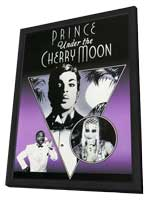 Under the Cherry Moon - 11 x 17 Movie Poster - Style B - in Deluxe Wood Frame