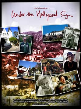 Under the Hollywood Sign - 43 x 62 Movie Poster - Bus Shelter Style A