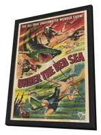 Under the Red Sea - 27 x 40 Movie Poster - Style A - in Deluxe Wood Frame
