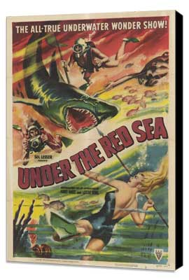 Under the Red Sea - 27 x 40 Movie Poster - Style A - Museum Wrapped Canvas