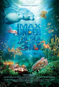 Under the Sea 3D - 43 x 62 Movie Poster - Bus Shelter Style A