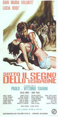 Under the Sign of Scorpio - 11 x 17 Movie Poster - Italian Style A