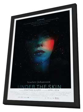 Under the Skin - 27 x 40 Movie Poster - Style A - in Deluxe Wood Frame
