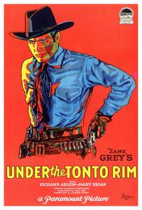 Under the Tonto Rim - 27 x 40 Movie Poster - Style A