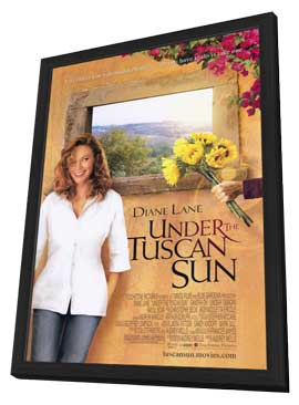 Under the Tuscan Sun - 11 x 17 Movie Poster - Style A - in Deluxe Wood Frame