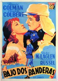 Under Two Flags - 11 x 17 Movie Poster - Spanish Style A