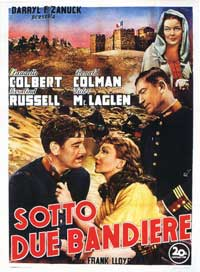 Under Two Flags - 11 x 17 Movie Poster - Italian Style B