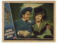 Under Western Skies - 11 x 14 Movie Poster - Style B