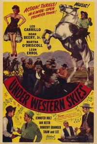 Under Western Skies - 27 x 40 Movie Poster - Style A