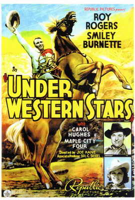 Under Western Stars - 27 x 40 Movie Poster - Style A