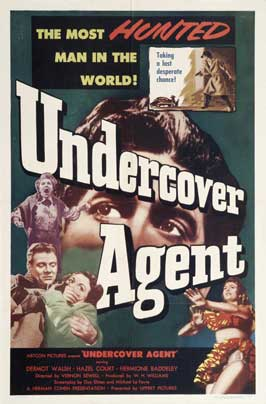 Undercover Agent - 11 x 17 Movie Poster - Style A