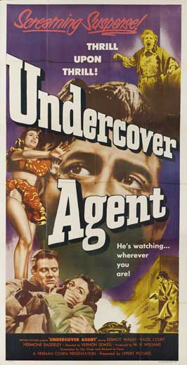 Undercover Agent - 20 x 40 Movie Poster - Style A