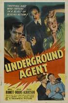 Underground Agent - 27 x 40 Movie Poster - Style A