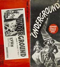 Underground - 11 x 17 Movie Poster - Style A
