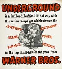 Underground - 27 x 40 Movie Poster - Style B