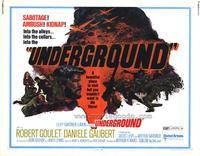 Underground - 11 x 14 Movie Poster - Style A