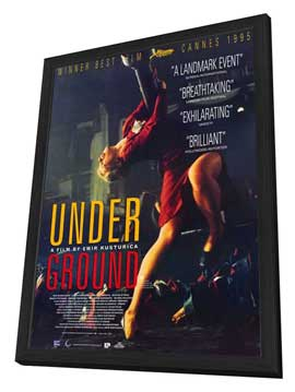 Underground - 27 x 40 Movie Poster - Style A - in Deluxe Wood Frame
