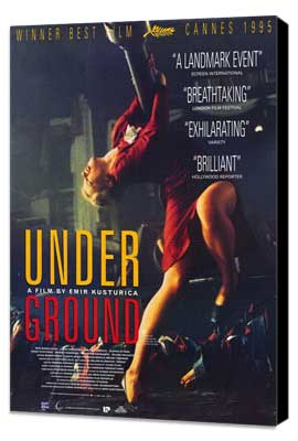 Underground - 27 x 40 Movie Poster - Style A - Museum Wrapped Canvas