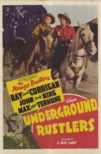 Underground Rustlers - 27 x 40 Movie Poster