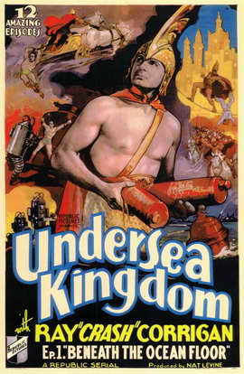 Undersea Kingdom - 11 x 17 Movie Poster - Style A