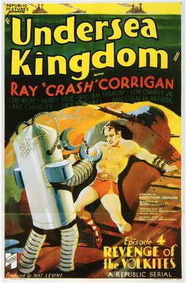 Undersea Kingdom - 11 x 17 Movie Poster - Style B