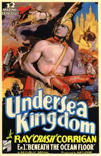 Undersea Kingdom - 43 x 62 Movie Poster - Bus Shelter Style A
