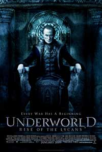 Underworld 3: Rise of the Lycans - 11 x 17 Movie Poster - Style B