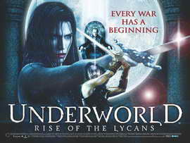 Underworld 3: Rise of the Lycans - 11 x 17 Movie Poster - Style C