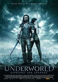 Underworld 3: Rise of the Lycans - 11 x 17 Movie Poster - German Style A