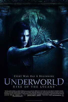Underworld 3: Rise of the Lycans - 27 x 40 Movie Poster - Style B
