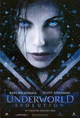 Underworld: Evolution - 11 x 17 Movie Poster - Style A