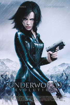 Underworld: Evolution - 11 x 17 Movie Poster - Style B
