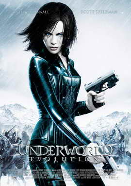 Underworld: Evolution - 27 x 40 Movie Poster - German Style A