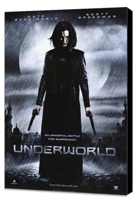 Underworld - 11 x 17 Movie Poster - Style B - Museum Wrapped Canvas
