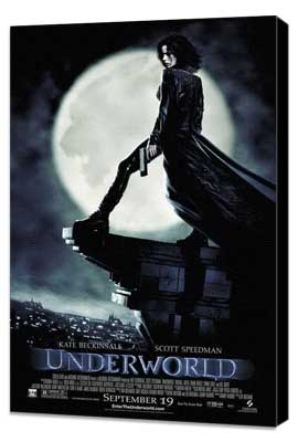 Underworld - 11 x 17 Movie Poster - Style C - Museum Wrapped Canvas