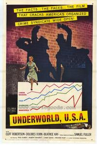Underworld, U.S.A. - 27 x 40 Movie Poster - Style A