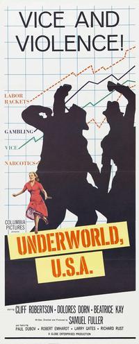 Underworld U.S.A - 14 x 36 Movie Poster - Insert Style A