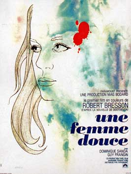 Une femme douce - 11 x 17 Movie Poster - French Style A