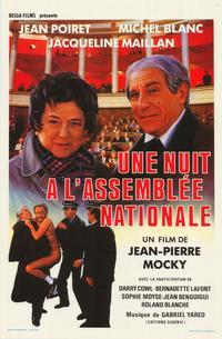 Une nuit � l'Assembl�e Nationale - 11 x 17 Movie Poster - Belgian Style A