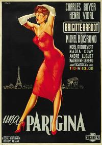 Une Parisienne - 11 x 17 Movie Poster - Italian Style A