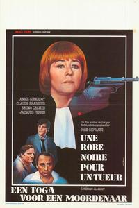 Une robe noire pour un tueur - 11 x 17 Movie Poster - Belgian Style A