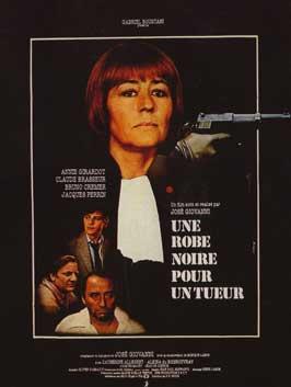 Une robe noire pour un tueur - 11 x 17 Movie Poster - French Style A